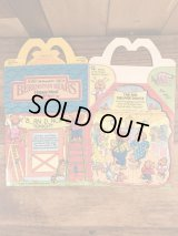 "McDonald's ""Berenstain Bears"" Happy Meal Box マクドナルド ビンテージ ハッピーミールボックス ミールトイ 80年代"