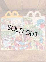 "McDonald's ""Berenstain Bears Books"" Happy Meal Box マクドナルド ビンテージ ハッピーミールボックス ミールトイ 80年代"