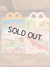 "McDonald's ""Muppet Babies"" Happy Meal Box マクドナルド ビンテージ ハッピーミールボックス ミールトイ 80年代"