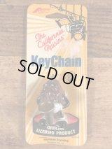 "The California Raisins ""Sax Player"" PVC Figure Keychain カリフォルニアレーズン ビンテージ キーホルダー PVCフィギュア 80年代"