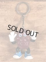 "The California Raisins ""Justin X. Grape"" PVC Figure Keychain カリフォルニアレーズン ビンテージ キーホルダー PVCフィギュア 80年代"
