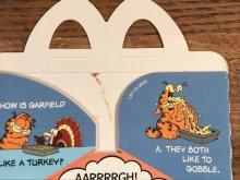 """他の写真2: McDonald's """"Garfield"""" Happy Meal Box マクドナルド ビンテージ ハッピーミールボックス ミールトイ 80年代"""