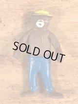 Smokey Bear Bendable PVC Figure スモーキーベア ビンテージ ベンダブルフィギュア くねくね人形 70〜80年代