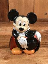 """Disney Mickey Mouse """"Magician"""" Candy Dispenser ミッキーマウス ビンテージ キャンディーディスペンサー マジシャン 80年代"""