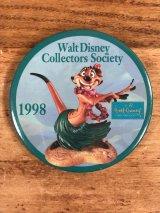 Walt Disney Collectors Society Pinback ディズニー ビンテージ 缶バッジ 缶バッチ 90年代