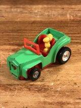 "Aviva Snoopy Woodstock ""Open Car"" Digest Mini Car ウッドストック ビンテージ ミニカー スヌーピー 70〜80年代"