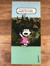 """Hallmark Snoopy """"Lucy"""" Greeting Card ルーシー ビンテージ グリーティングカード 70〜80年代"""