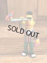 "Applause Sesame Street Bert ""Binoculars"" PVC Figure バート ビンテージ PVCフィギュア セサミストリート 80年代"