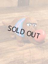 "Applause Sesame Street Snuffy ""Ball"" PVC Figure スナッフィー ビンテージ PVCフィギュア セサミストリート 80年代"