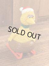 "Applause Sesame Street Big Bird ""Sled"" PVC Figure ビッグバード ビンテージ PVCフィギュア セサミストリート 80年代"