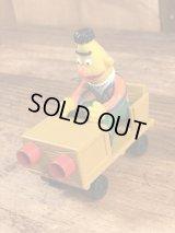 "Applause Sesame Street ""Bert"" PVC Car Toy バート ビンテージ カートイ セサミストリート 80年代"