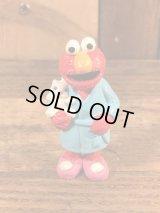 "Applause Sesame Street Elmo ""Robe"" PVC Figure エルモ ビンテージ PVCフィギュア セサミストリート 80年代"
