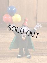 """Applause Sesame Street Count Von Count """"Balloon"""" PVC Figure カウント伯爵 ビンテージ PVCフィギュア セサミストリート 80年代"""
