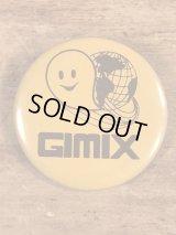 Gimix Pinback 企業物 ビンテージ 缶バッジ 缶バッチ 80年代