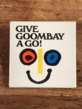 Give Goombay A Go! Pinback イベント ビンテージ 缶バッジ 缶バッチ 70年代