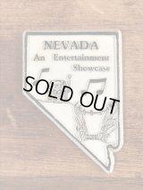 """""""Nevada"""" State Souvenir Rubber Magnet ネバダ州 ビンテージ マグネット スーベニア 80年代〜"""