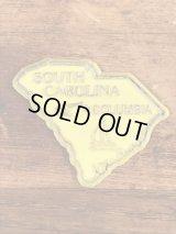 """""""South Carolina"""" State Souvenir Rubber Magnet サウスカロライナ州 ビンテージ マグネット スーベニア 90年代"""