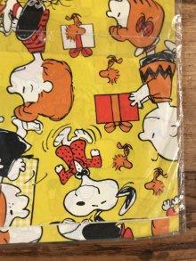 他の写真2: Hallmark Peanuts Snoopy All Occasion Gift Wrap スヌーピー ビンテージ ラッピングペーパー ピーナッツギャング 70年代