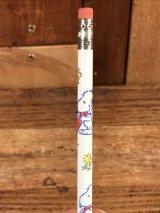 Peanuts Snoopy & Woodstock Pencil スヌーピー ビンテージ 鉛筆 ウッドストック 70〜80年代