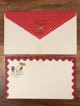 """Hallmark Peanuts Snoopy & Woodstock """"Smile"""" Greeting Card スヌーピー ビンテージ グリーティングカード ウッドストック 70〜80年代"""