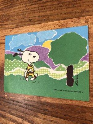 Hallmark社製のスヌーピーのヴィンテージグリーティングカード