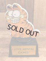 "Aviva Garfield ""I Love Mental Games"" Trophy ガーフィールド ビンテージ トロフィー 70〜80年代"