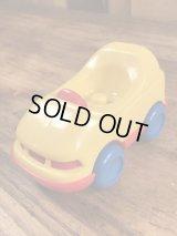 """Little Tikes Toddle Tots """"Yellow"""" 1-Seater Car トドルトッツ ビンテージ 1人用車 リトルタイクス 80年代"""