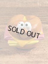 "Burger King Lickety Splits Rolling Racers ""Croissant"" Meal Toy バーガーキング ビンテージ ミールトイ ハッピーミール 80年代"