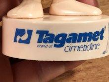 他の写真1: Tagamet Bendable PVC Figure タガメット ビンテージ ベンダブルフィギュア くねくね人形 PVCフィギュア 80年代