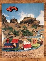 Aviva Toy Company Peanuts Snoopy Catalog アビバ社 ビンテージ カタログ スヌーピー 70年代