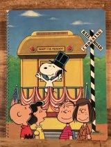 "Plymouth Peanuts Snoopy ""For President"" Theme Book スヌーピー ビンテージ ノートブック ピーナッツギャング 70〜80年代"