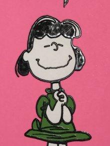 """他の写真2: Hallmark Peanuts Lucy """"Happiness Is Not..."""" Greeting Card ルーシー ビンテージ グリーティングカード スヌーピー 70〜80年代"""