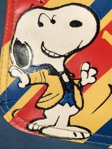 """他の写真2: Peanuts Snoopy """"Boogie!"""" Tote Bag スヌーピー ビンテージ トートバッグ 70年代"""