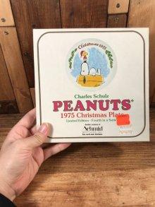 """他の写真3: Schmid Peanuts Snoopy """"1975"""" Christmas Plate スヌーピー ビンテージ クリスマスプレート お皿 70年代"""