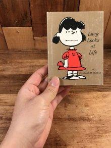 """他の写真3: Hallmark Peanuts """"Lucy Looks at Life"""" Mini Picture Book ルーシー ビンテージ 絵本 スヌーピー 70年代"""