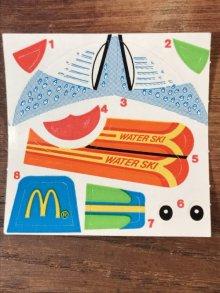 """他の写真2: McDonald's """"Grimace"""" Plastic Boat Happy Meal Toy グリマス ビンテージ ミールトイ マクドナルド 80年代"""