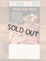 McDonald's Pizza Flyer Sign マックピザ ビンテージ フライヤー 紙物 90年代