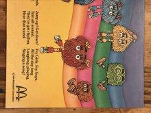 """他の写真1: McDonaldland Fun Times """"Sounds Like Fun!"""" Magazine マクドナルド ビンテージ ファンタイムズ フリーペーパー 80年代"""