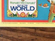 """他の写真2: Ronald McDonald Sticker Fun """"1982"""" Coloring Calendar マクドナルド ビンテージ カラーリングブック ロナルド 80年代"""