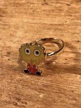 """McDonaldland Jewelry """"Fry Kid"""" Enamel Ring フライキッズ ビンテージ リング マクドナルド 指輪 70年代"""