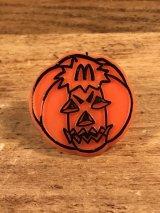 """McDonald's """"Pumpkin"""" Plastic Toy Ring かぼちゃ ビンテージ トイリング マクドナルド 80年代"""