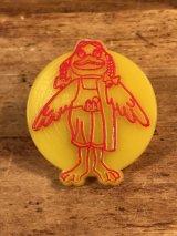 "McDonald's ""Bardie"" Plastic Toy Ring バーディー ビンテージ トイリング マクドナルド 80年代"