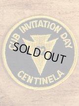 Cub Invitation Day Centinela BSA Patch ボーイスカウト ビンテージ ワッペン パッチ 60年代