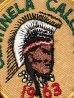 60年代頃のボーイスカウトのビンテージの刺繡ワッペン