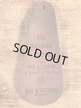 All America Shoes Advertising Shoe Horn アドバタイジング ビンテージ シューホーン 靴ベラ 〜30年代