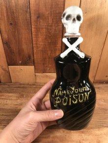他の写真3: Name Your Poison Skull Decanter スカル ビンテージ デカンタ ポイズンボトル 50年代