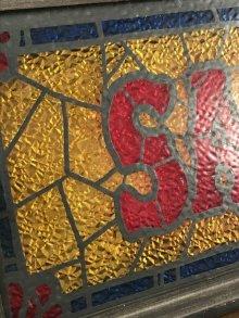 他の写真2: Saloon Stained Glass Style Bar Light Up Sign サルーン ビンテージ ライトアップサイン バー 電飾 70年代