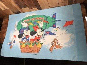 70'sのミッキー&ミニーのヴィンテージの枕カバー