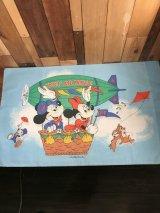 Disney Mickey Air Mobile Pillow Case ミッキー&ミニーマウス ビンテージ ピローケース 枕カバー 70年代