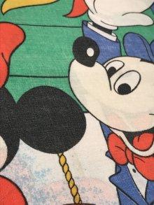 他の写真3: Disney Mickey Air Mobile Pillow Case ミッキー&ミニーマウス ビンテージ ピローケース 枕カバー 70年代